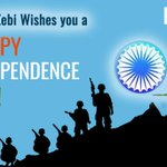 Image for the Tweet beginning: Happy Independence Day!!  Zebi launched the