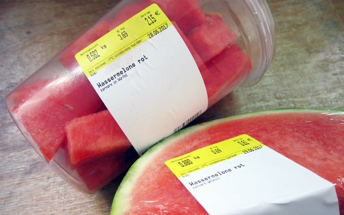 #Wassermelone Foto