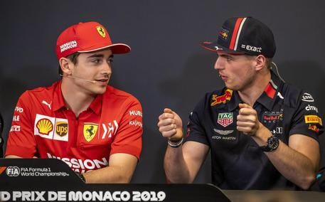 """Tell the truth: you and Verstappen can't stand each other? @Charles_Leclerc : """"But no! As children we didn't even say goodbye because we confused the driver with the person, we were immature. Now fortunately, we are no longer mixing the two things."""" #F1 #Charles16"""