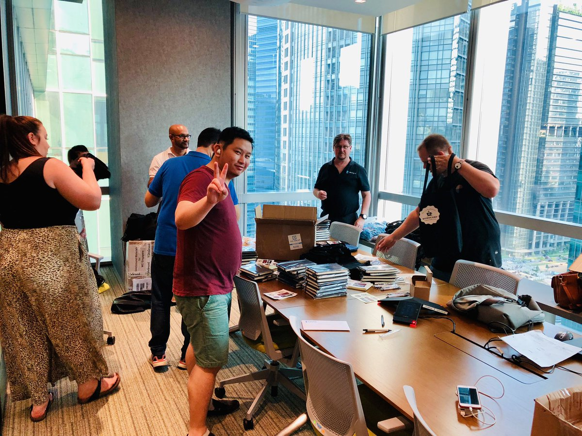 test Twitter Media - Swag packing and preparation for @WordCampSG! All the organizers, volunteers working hard to make an amazing #WordCamp! #WCSG #WordCampSQ #Singapore https://t.co/Ssi4y2tSyH