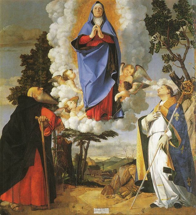 #LorenzoLotto #PaladiAsolo #AssumptionOfMary #OilPainting #Asolo #VenetianSchool #ItalianPainting https://t.co/w6arwmxSnc