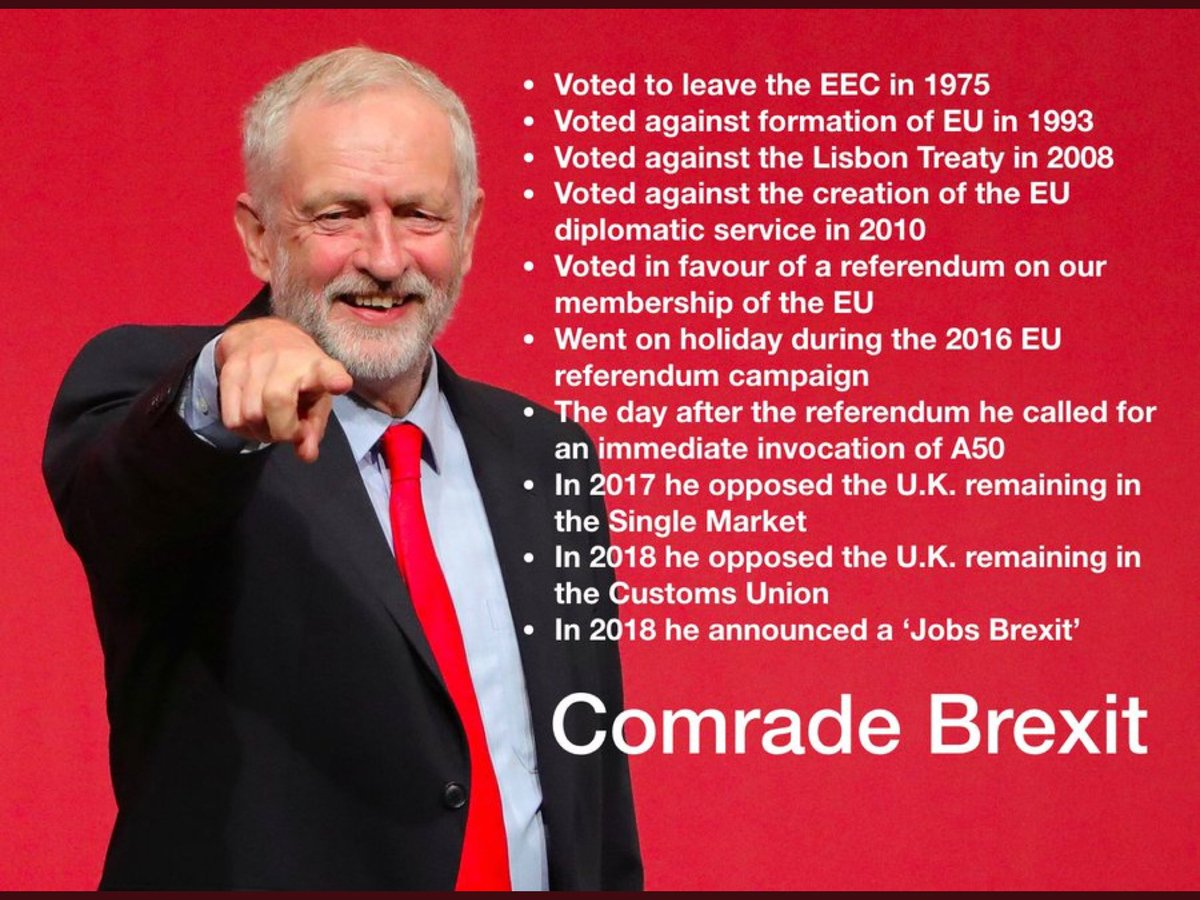 We need a pro EU MP, Corbyn is a Leaver.