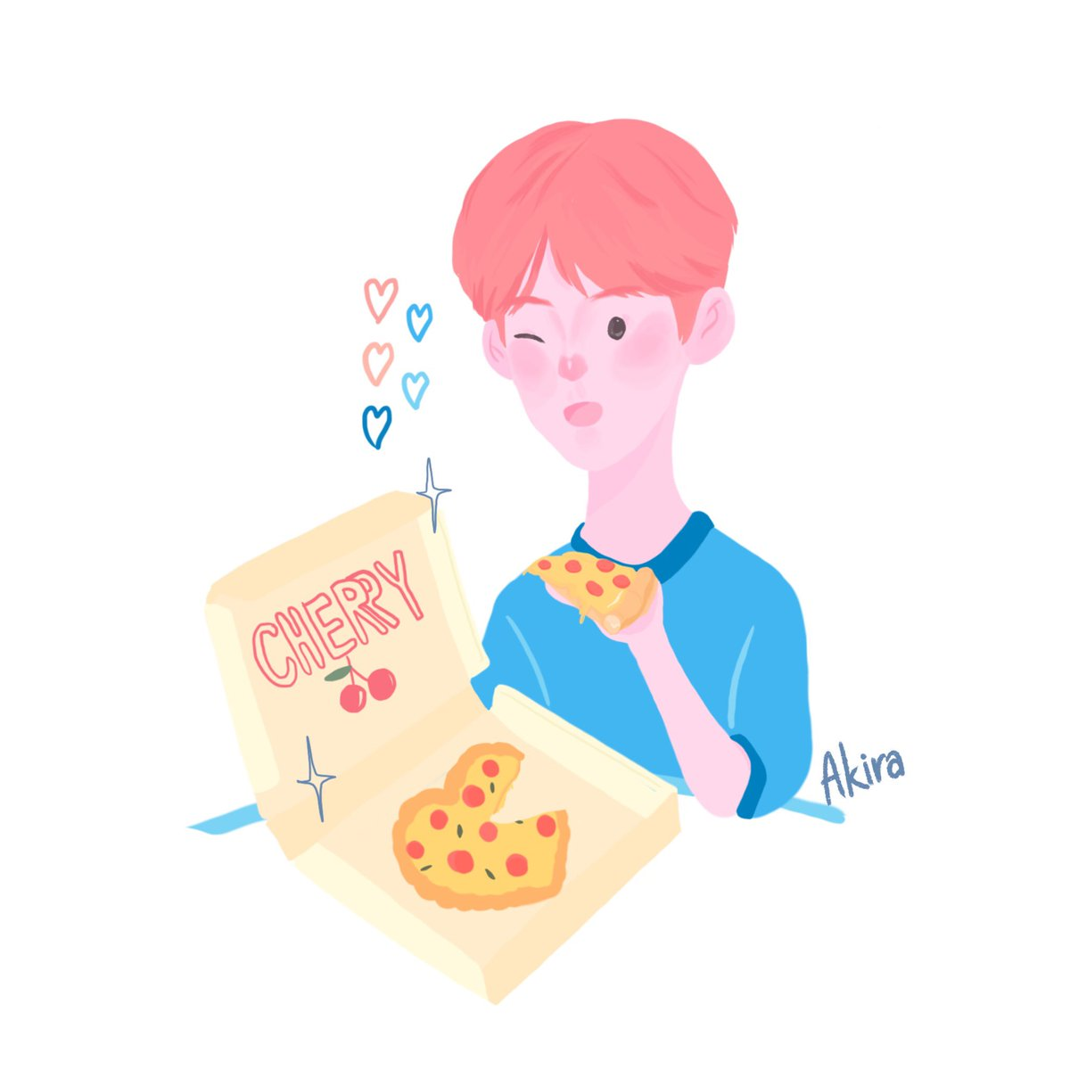 Love you as much as pizza   #이은상 #LEEEUNSANG #X1 #PRODUCE_X_101 <br>http://pic.twitter.com/97C3kksiYI