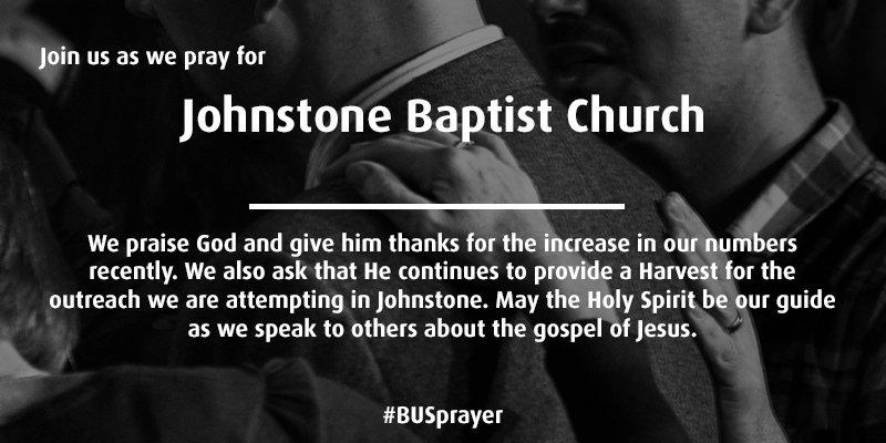 Prayer - Baptist Union of Scotland