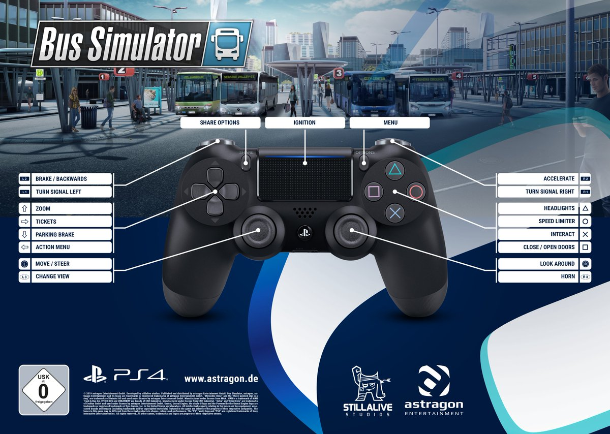 Bus simulator 18 ps4