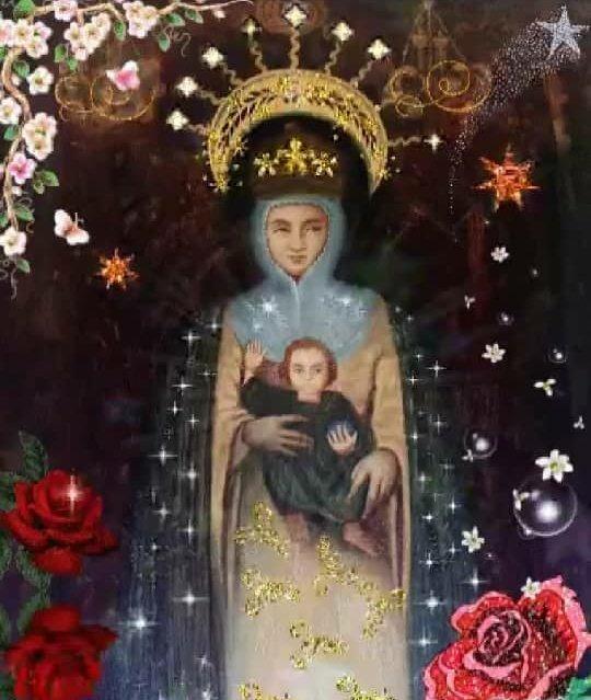 Que la Virgen de la Consolación de Táriba ilumine a cada instante nuestros días. Que así como apartó y calmó las aguas turbulentas del río Torbes, aparte las violentas pretensiones imperiales contra la Patria de Bolívar. Madre adorada, protégenos y cúbrenos con tu manto sagrado.