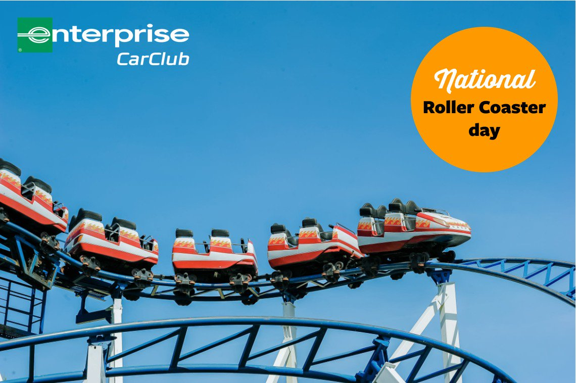 Thrill seekers… Listen up! Today is National Roller Coaster Day so it's time to use #EnterpriseCarClub and get your group to a theme park near you. Our estate vehicles are perfect for transporting a group of friends so grab one today at: http://www.enterprisecarclub.co.uk