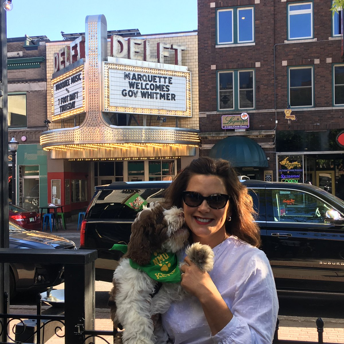 Governor Gretchen Whitmer On Twitter Kevin And I Thank You For The Warm Welcome