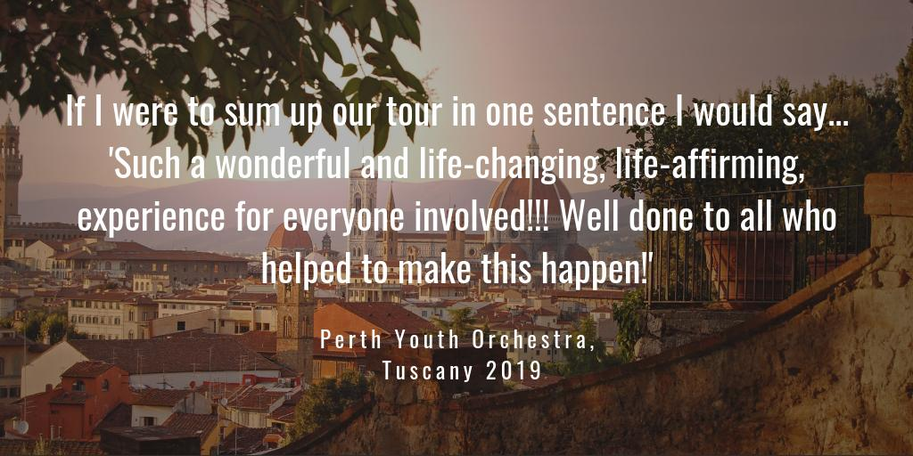 Some lovely feedback from @PyoPerth - thank you! https://t.co/WrCe6KcXEp