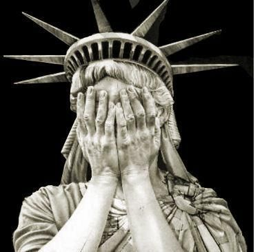 """The Trump poem for the Statue of Liberty:  """"Give me your white, your wealthy,Your single yuppies yearning to be richer,Your wretched excesses hidden off shore.""""#StatueOfLiberty #RacistInChief"""