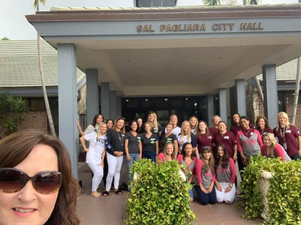 It is #CityHallSelfieDay in Parkland! Stop by city hall today and take your selfie. This year I was joined by board members from every Broward County Public School PTA/PTO/PTSO in Parkland! These hard working ladies and their volunteers make such a difference in the schools. <br>http://pic.twitter.com/HrSzkH7EPU