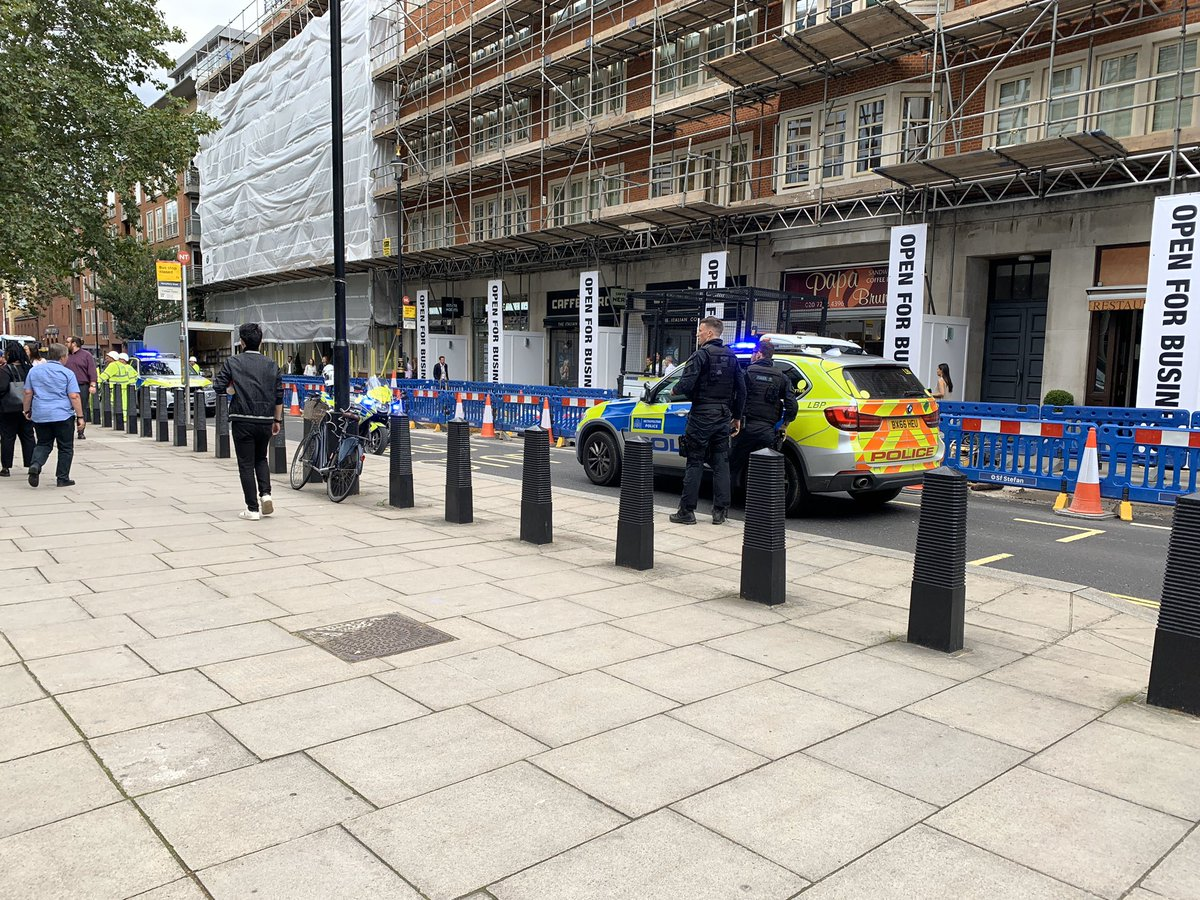 Man stabbed near Home Office in central London