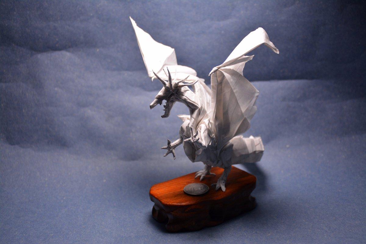 Origami Ancient Dragon Crease Pattern #1 | Origami ancient dragon ... | 800x1200