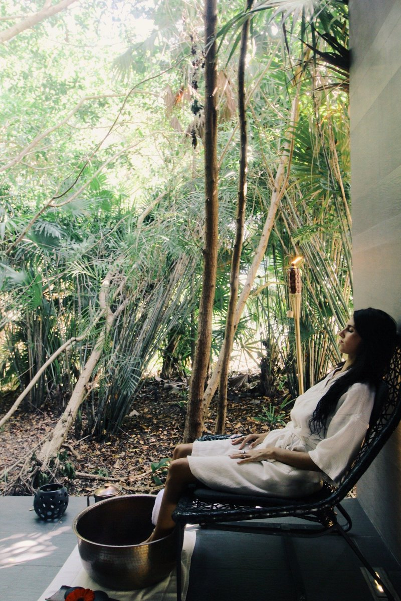 Nestled in the heart of our hotel and surrounded by beautiful mangroves Cenote Spa invites you to a journey of well-deserved relaxation. https://t.co/tm5e1luN6p