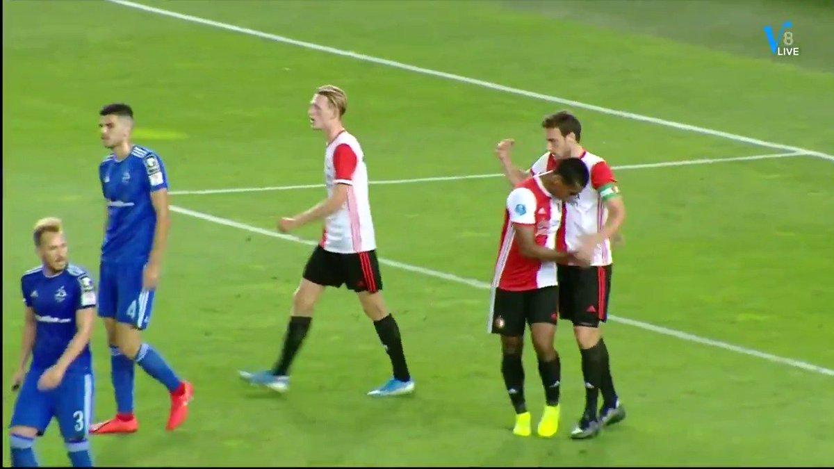 Dinamo Tbilisi - Feyenoord 1-1 door Eric Botteghin