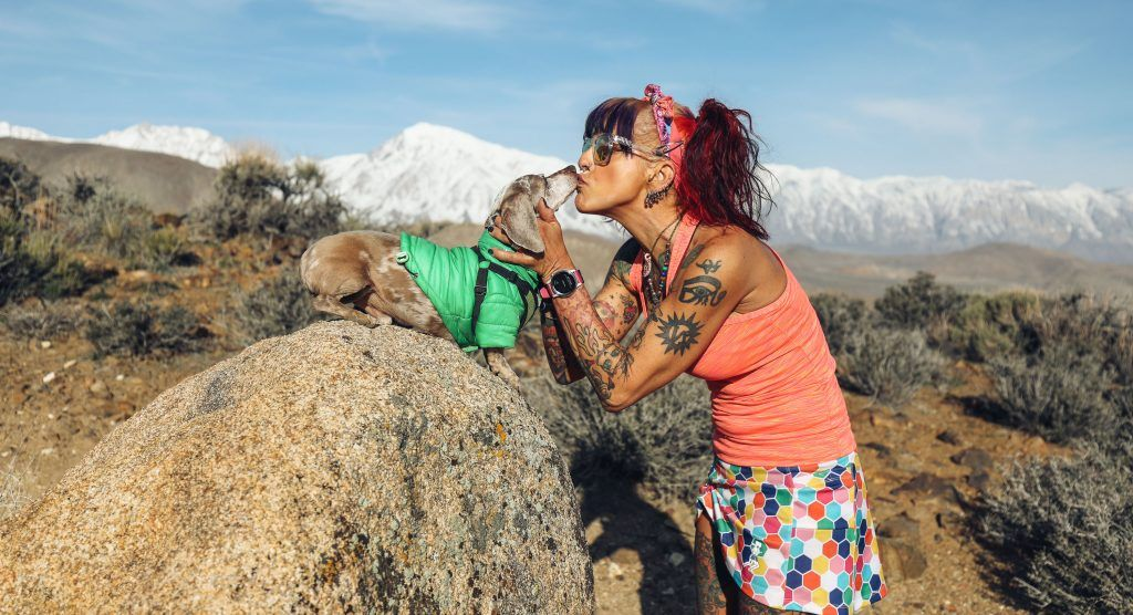 A lot of us trail runners spend time with man and womans best friends—heres a shout out to a top trail dog. This low-clearance, nine-pound dachshund has ticked off 10,000+ trail miles and some 50K jaunts. Introducing the one and only TruMan! @dirtdiva33 buff.ly/2Za9njr
