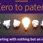 Image for the Tweet beginning: Get the USPTO to SXSW