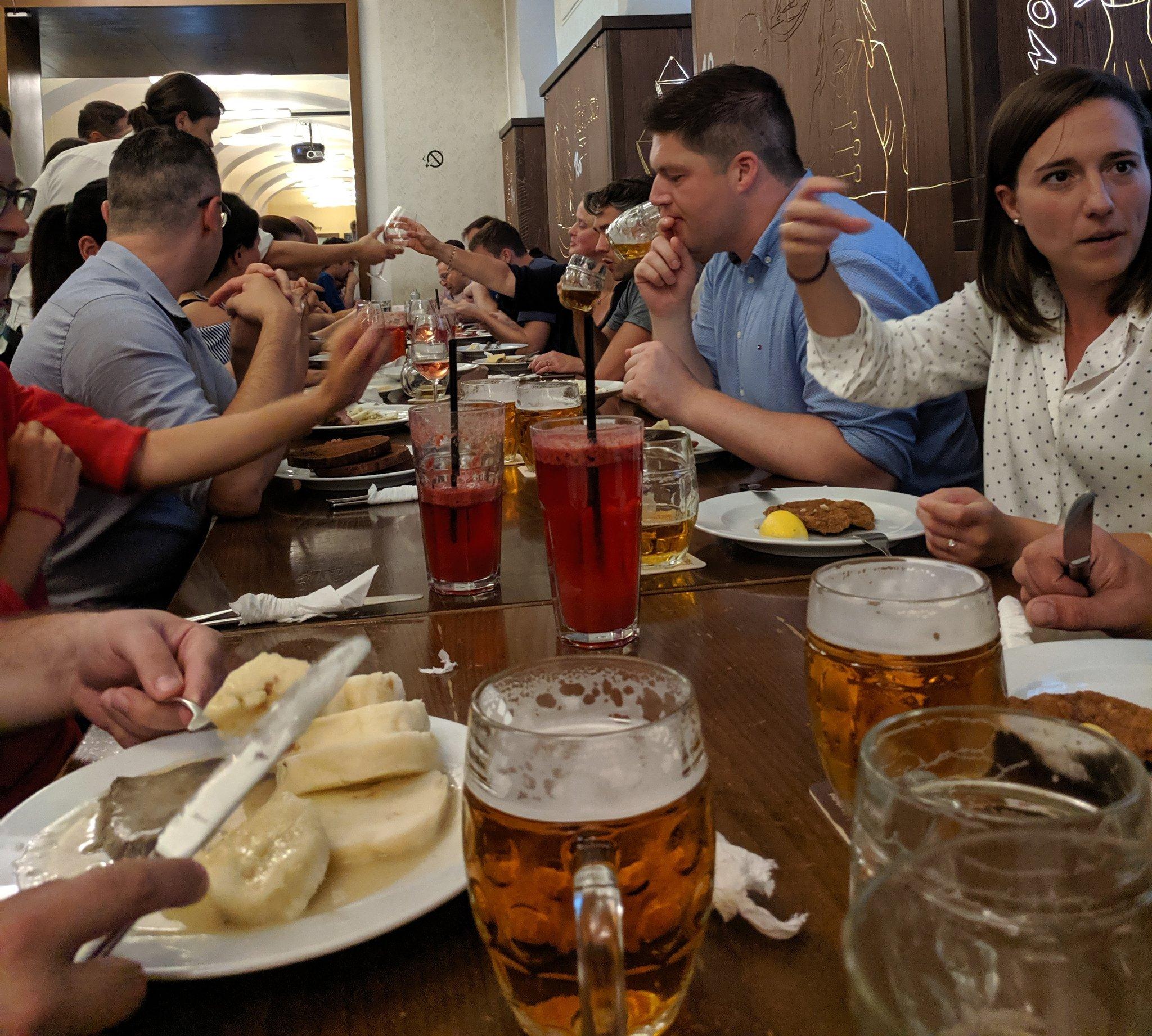 Speaker's dinner, stolen from Szandor
