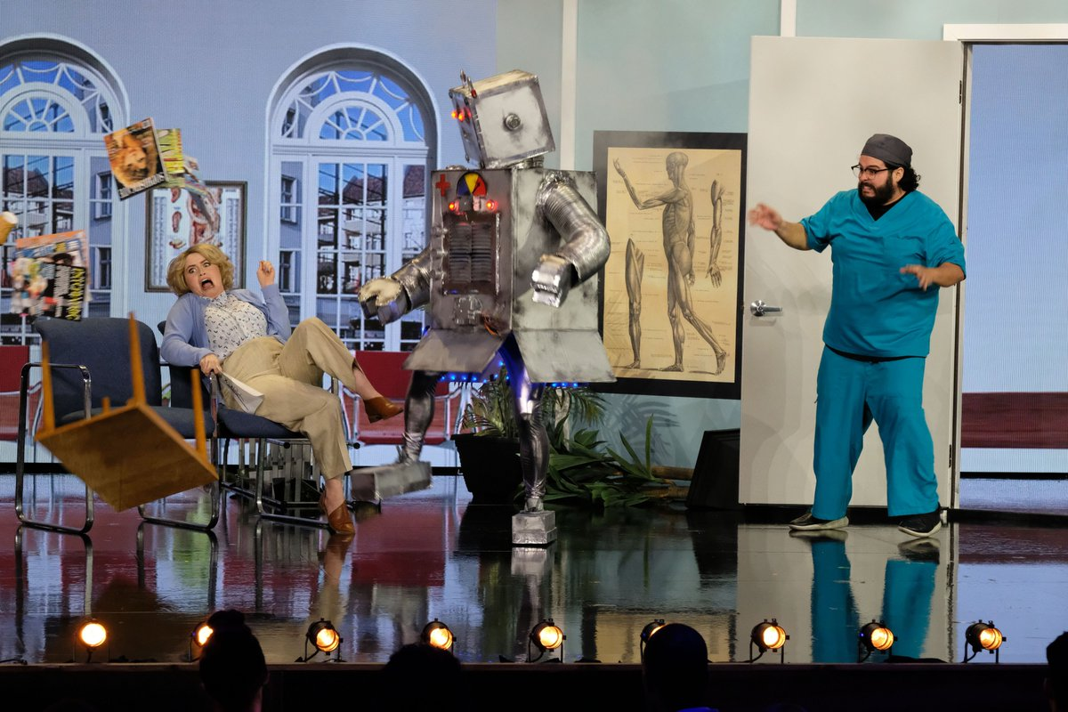 The stupidity of what we are doing on national television on Tuesday night is already a highlight of my career, regardless of what happens. So proud of this insanity. Tuesday at 10PM on NBC! #BringTheFunny