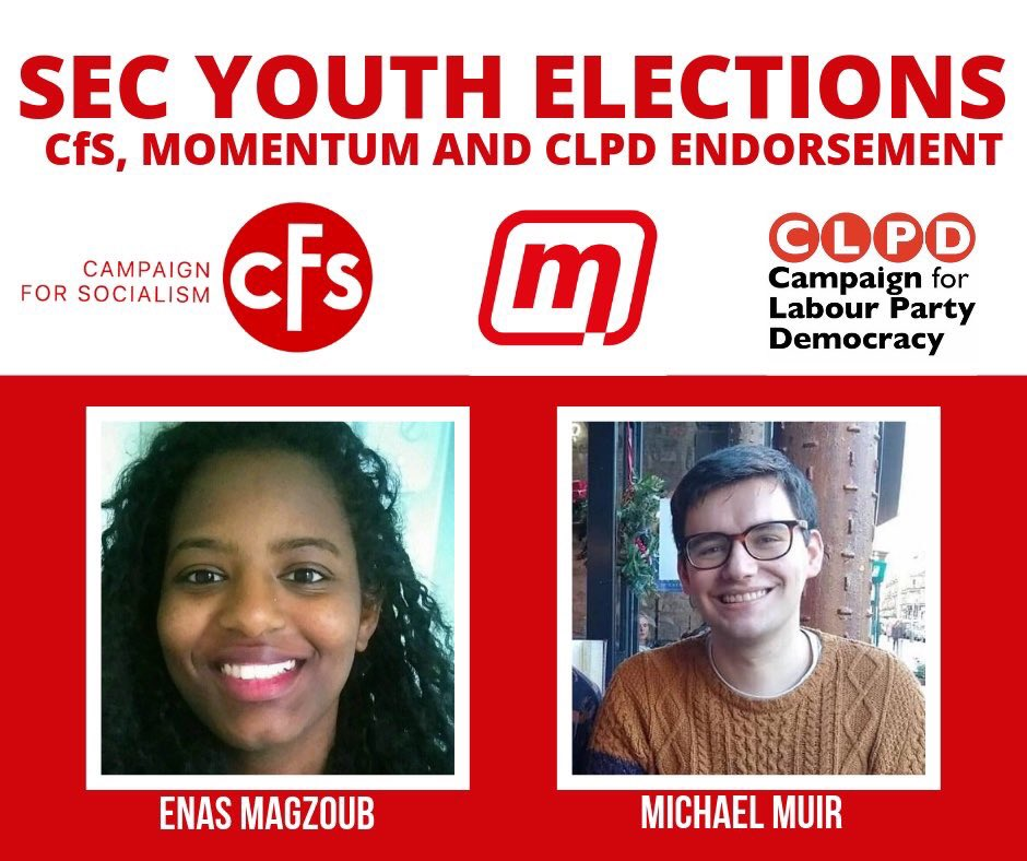 Elect Enas and Michael as your SEC youth reps to put a stop to this kind of nonsense