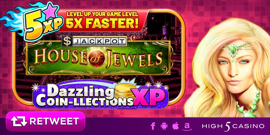High 5 Casino On Twitter Enter The Dazzling Coin Llections Xp In