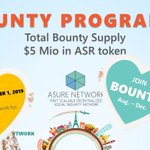 Image for the Tweet beginning: Today we start our Bounty