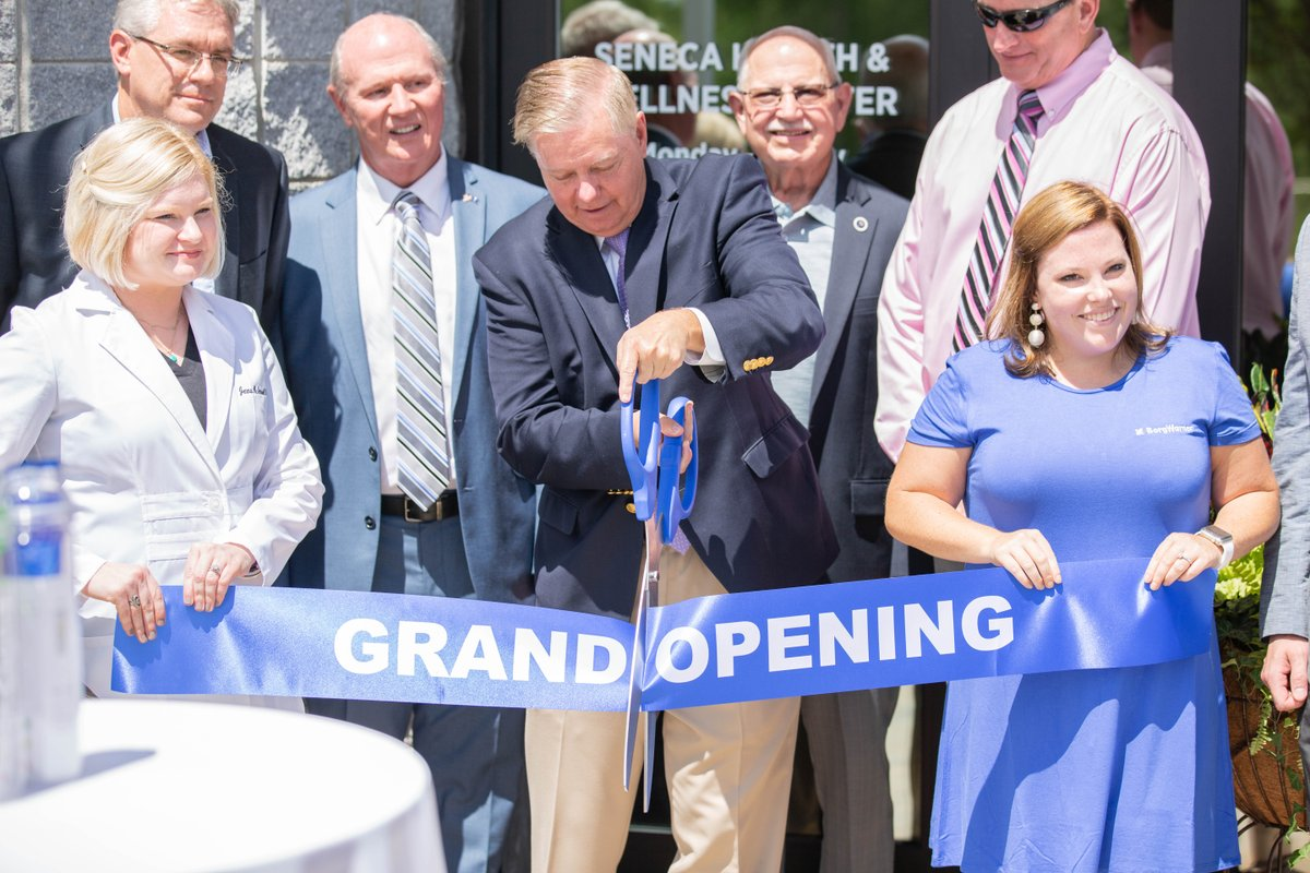 Our facility in Seneca, SC, celebrated the grand opening of its on-site health clinic yesterday. Thank you @GrahamBlog and @billsandifer for participating in the event.