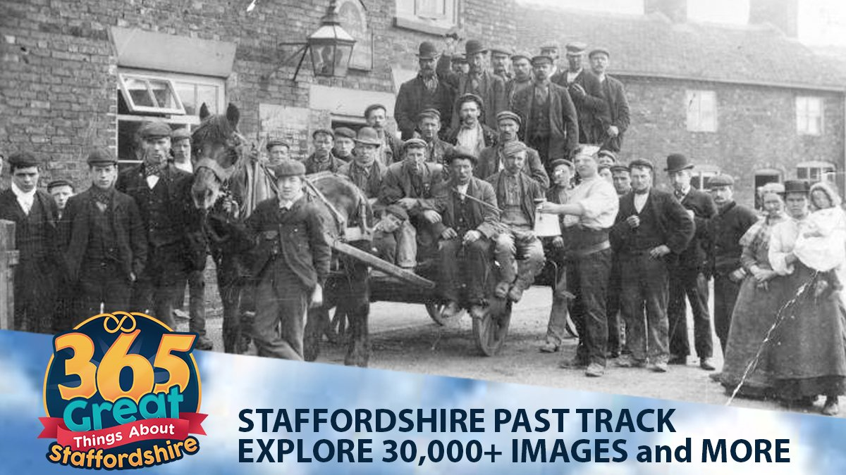 365 Great Things About Staffordshire Staffordshire Past Track Explore #Staffordshire's history through an online database of 30.000+ photos, images, maps & docs, using a range of easy to use search tools. http://bit.ly/StaffsPastTrack #Staffs365 #StaffordshireHistory #StaffsPastTrackpic.twitter.com/ehF26dfex4