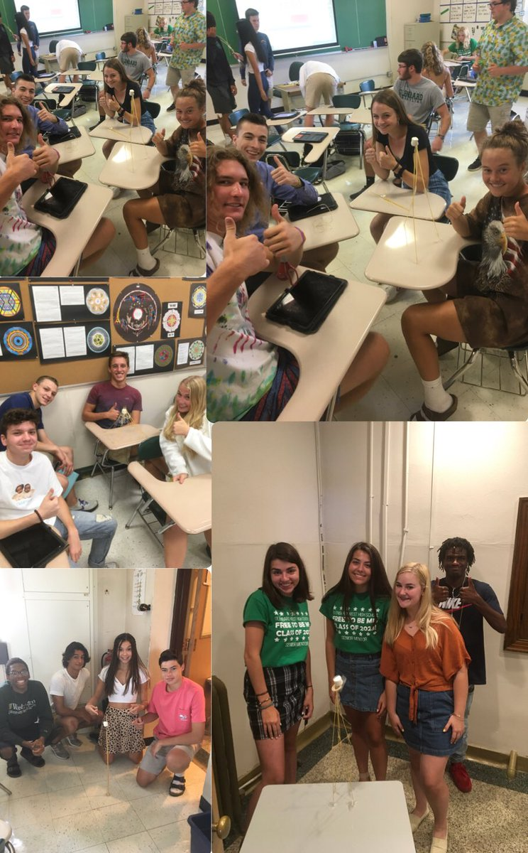 Mr. Neiss' students participated in the Spaghetti Challenge on the 1st day of class to introduce the characteristics of successful classroom cultures. Congrats to the winners! Want to know more? Check out this excerpt from Daniel Coyle's The Culture Code. danielcoyle.com/excerpt-cultur…