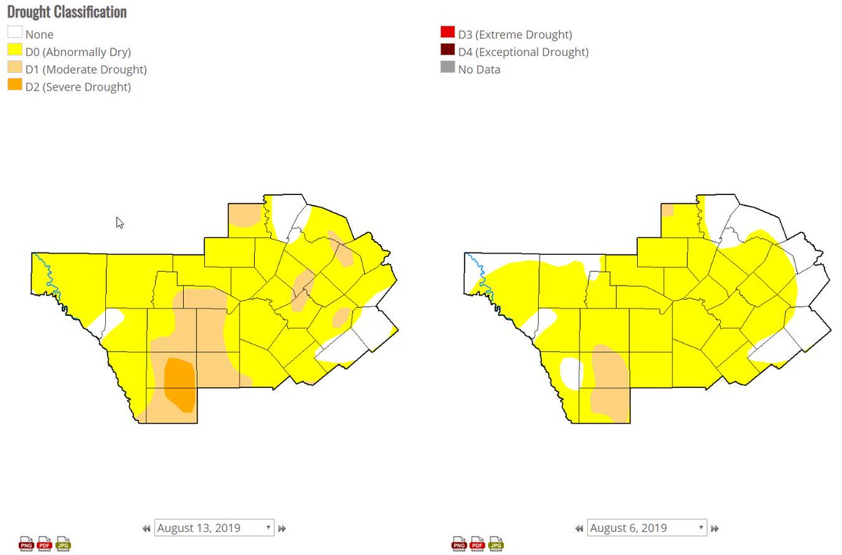 Map Of South Central Texas.Nws Austin San Antonio On Twitter The Us Drought Monitor Map For