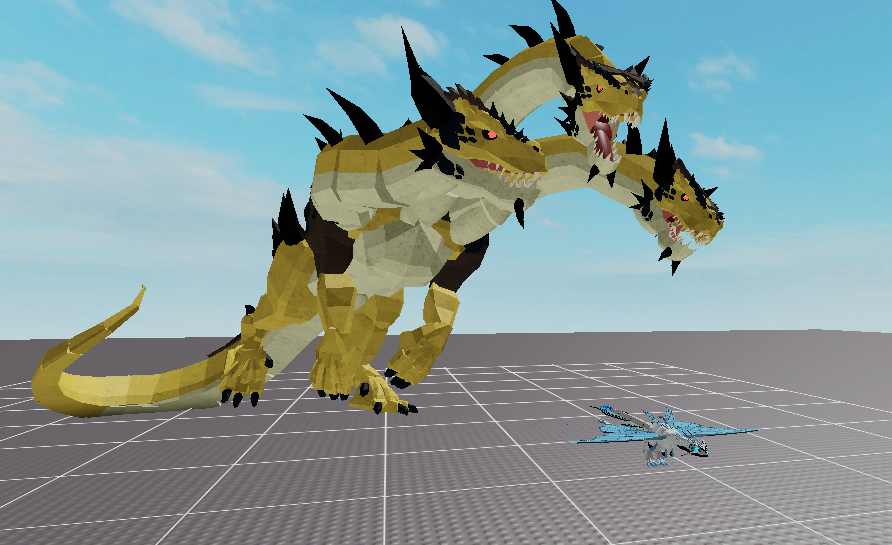 Supernob123 On Twitter The Largest Dragon In Game Hydra In