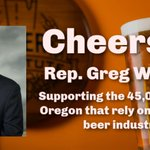 Image for the Tweet beginning: Thank you @repgregwalden for sponsoring