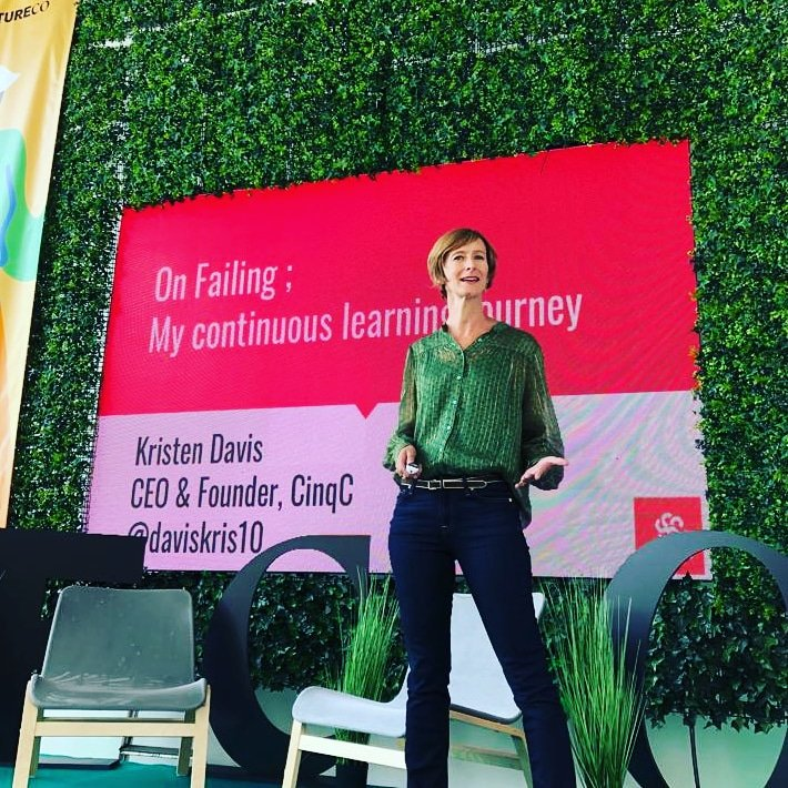 And now in Estonia... Doing what is counter-intuitive and standing up on stage to talk about some of my (many) mistakes 😯 Its all part of knowing how to fail, well, and create a continuous learning journey💪 #futureco19 #Parnu #estonia #fail #failure #fuckup #learning