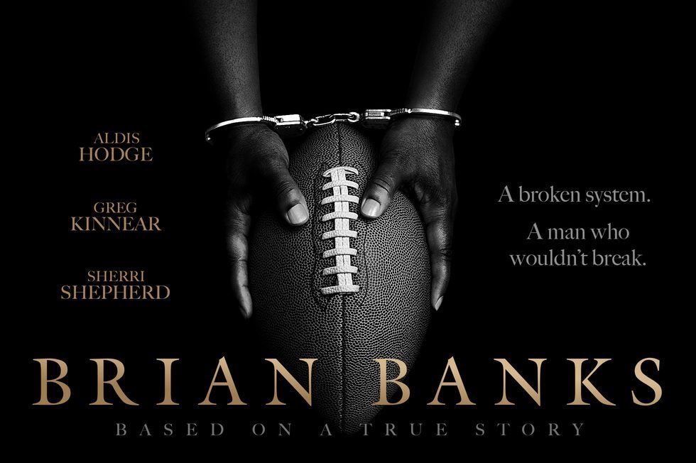 Saw @brianbanksmovie last night... it's a powerful story about a young man that refused to give up! Thanks for sharing your life with us @BrianBanksFREE, you're an inspiration to everyone!!