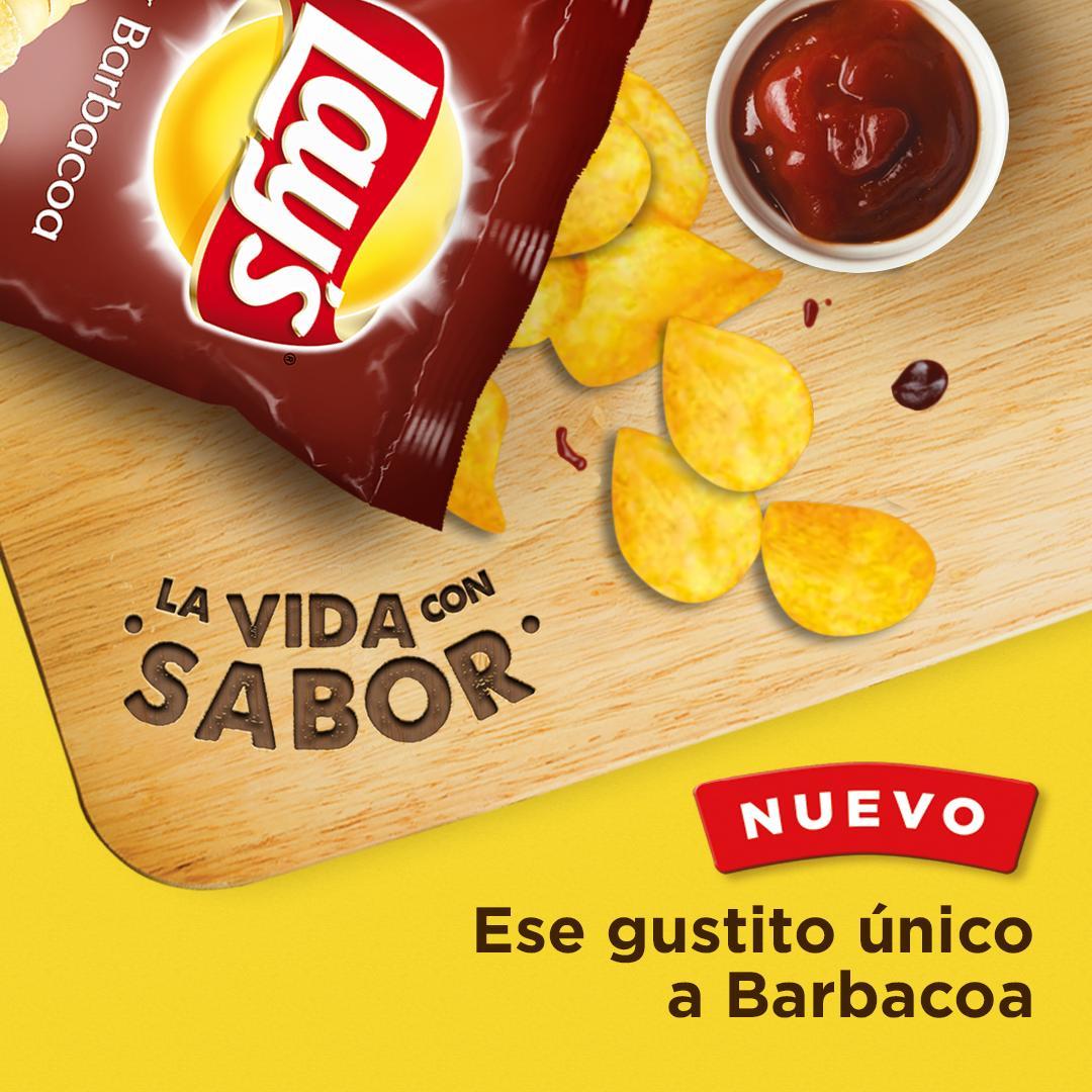 Hay combinaciones que son una explosión de sabor en tu boca #Lays #Barbacoa #LaVidaConSabor https://t.co/j0tBMu6paS