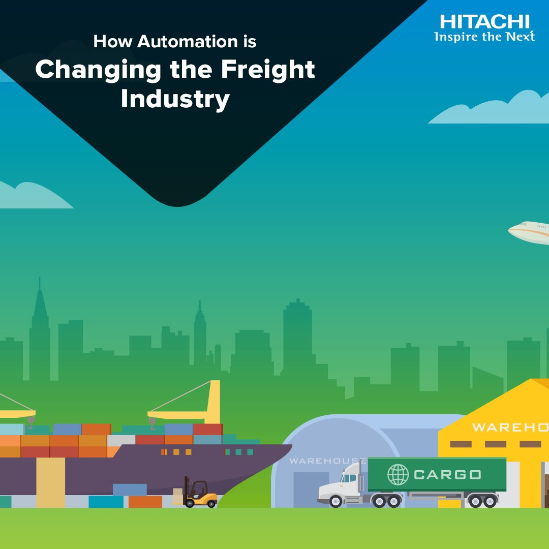 How can #automation improve asset availability, reliability and result in more efficient and safer #FreightOperations? Click the link to find out: bit.ly/2OW05rm #Transportation #Digitization