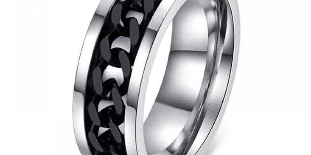 Men's Chain Decor Ring  #mensfashion #menswear<br>http://pic.twitter.com/4CB2m2q3D5
