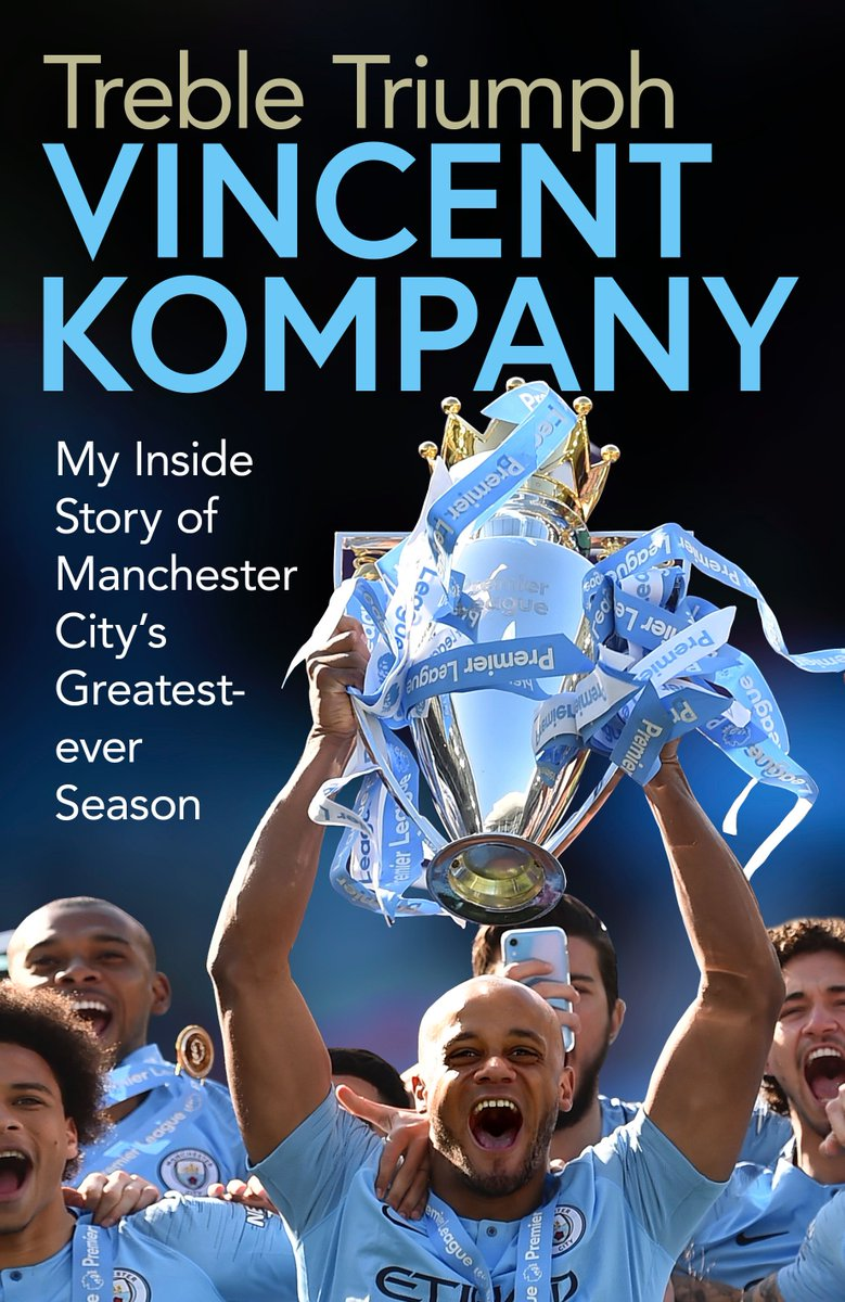 I sat down with @iancheeseman for a review of what turned out to be my last season as a blue. The inside story of this most remarkable season with @ManCity will be out from @simonschusterUK on 14 November. #TrebleTriumph https://t.co/bIuUZWLrx6