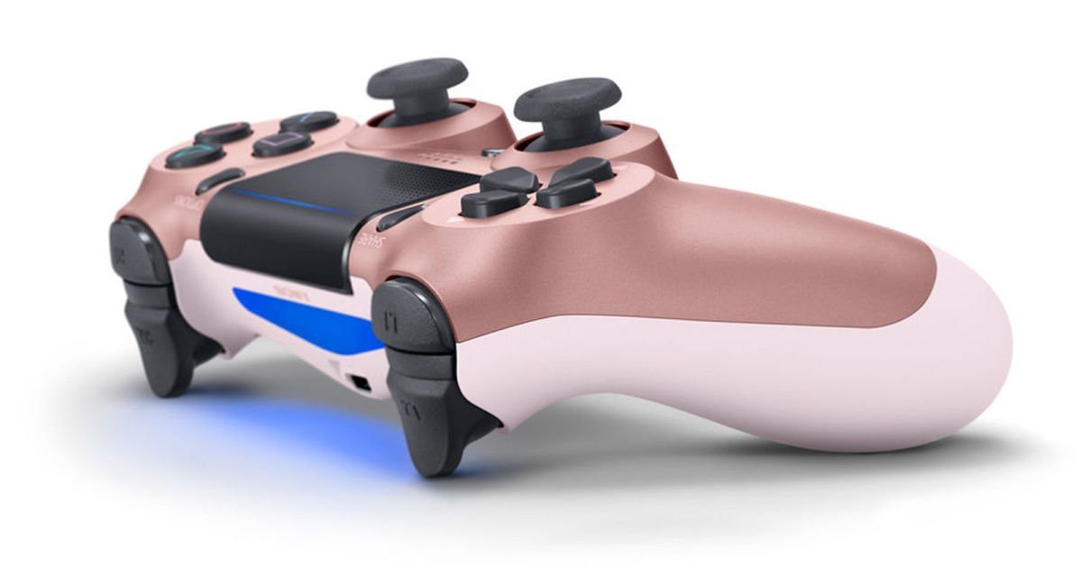 The PS4 is finally getting a rose gold DualShock 4 controller