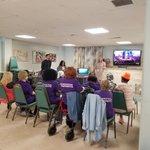 Image for the Tweet beginning: NJAC's nurse volunteer #CathlynRobinson from