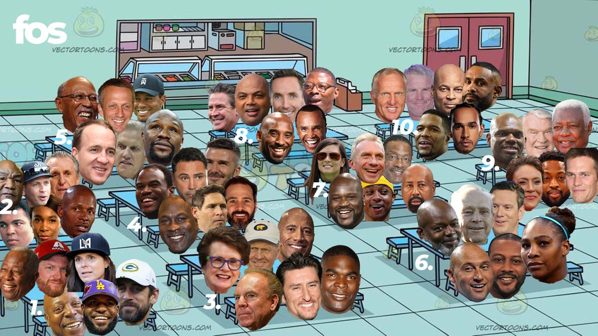 "Which table are you sitting at for @MagicJohnson's ""Top 60 Athletes Turned Entrepreneurs"" 🤔"