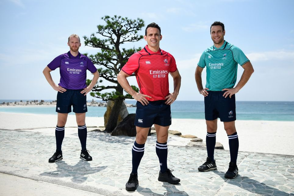 test Twitter Media - 'Team 21' match officials kit unveiled for Rugby World Cup 2019: https://t.co/jeMOM02Nxr https://t.co/0rRs2WuPMO