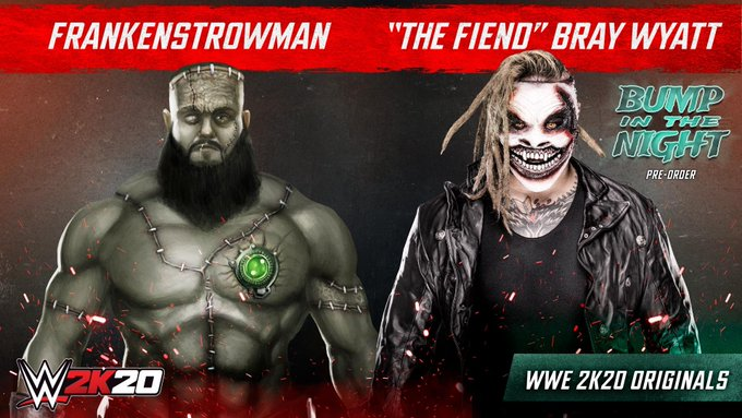 """""""The Fiend"""" Bray Wyatt And More Horror-Themed Content Announced As WWE 2K20 DLC"""