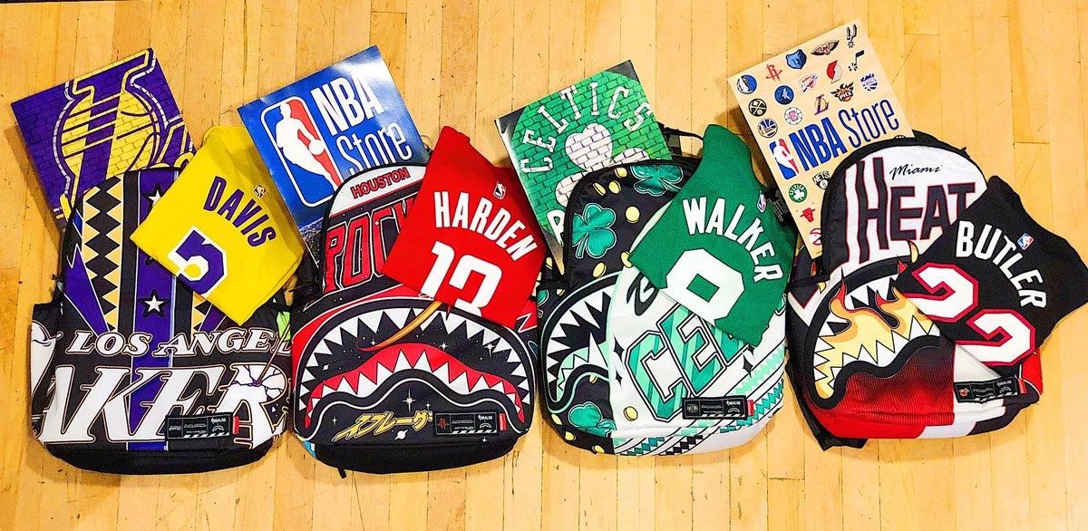 Back to school, back to cool.   #NBA #NBAStoreNYC #BTS