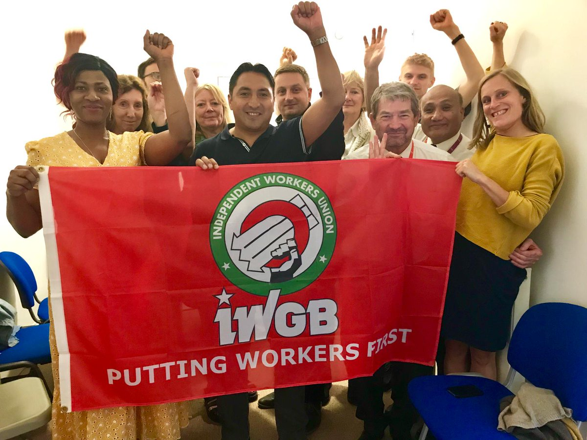 Today we launched our branch at the @UniofGreenwich. Very proud to have become the 10th branch of the @IWGBunion ! The fight for justice, dignity and respect at the University of Greenwich is now on! Watch this space. <br>http://pic.twitter.com/269R8w0Tzt