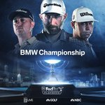 Image for the Tweet beginning: It's on- BMW Championship first