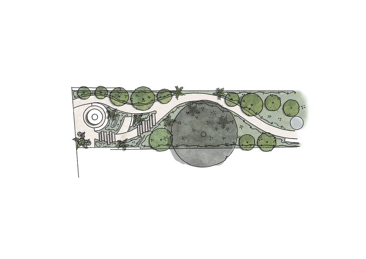 Concept drawings of a multi-level townhouse garden in Oxfordshire. As a multidisciplinary company this project will encompasses the full range of design services of @HollandGreen_  . . . #concept #sketch #handdrawing #architecturaldesign #interiordesign #landscapedesign<br>http://pic.twitter.com/lPHImB3HEt