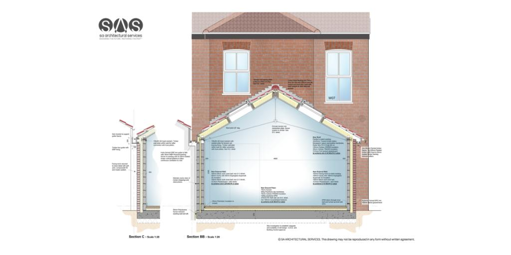 An example of some of our technical drawings.    If you would like any help please get in touch  #ArchitecturalDesign #ArchitecturalServices<br>http://pic.twitter.com/mBlCQpP1QB