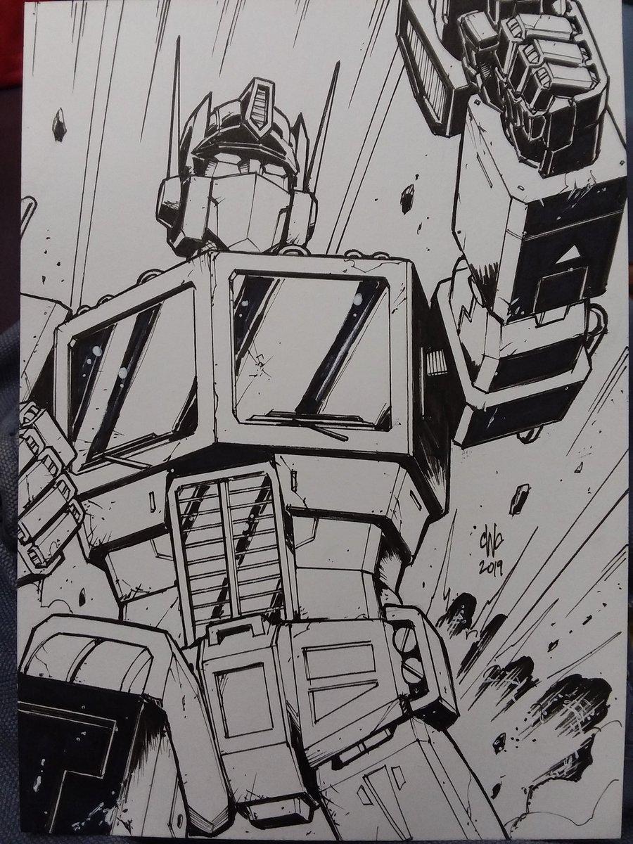 Optimus Prime. 'Nuff said.