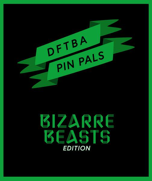 Shhh...dont tell anyone, but the next Bizarre Beasts pin weve planned may come with an extra super secret second pin, but you have to sign up by the end of the day! bit.ly/33vhJ8F